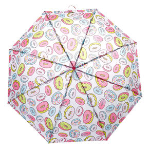 Rainbow Donut Umbrella - White,