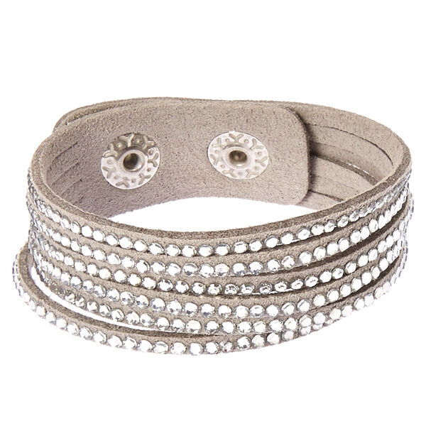 Claire's - studded layered wrap bracelet - 1