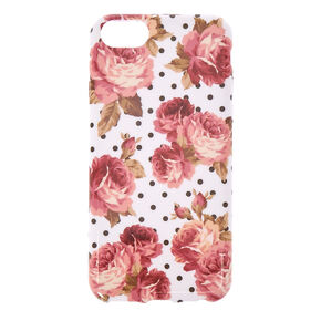 Floral & Polka Dot Phone Case - Fits iPhone 5/5S,