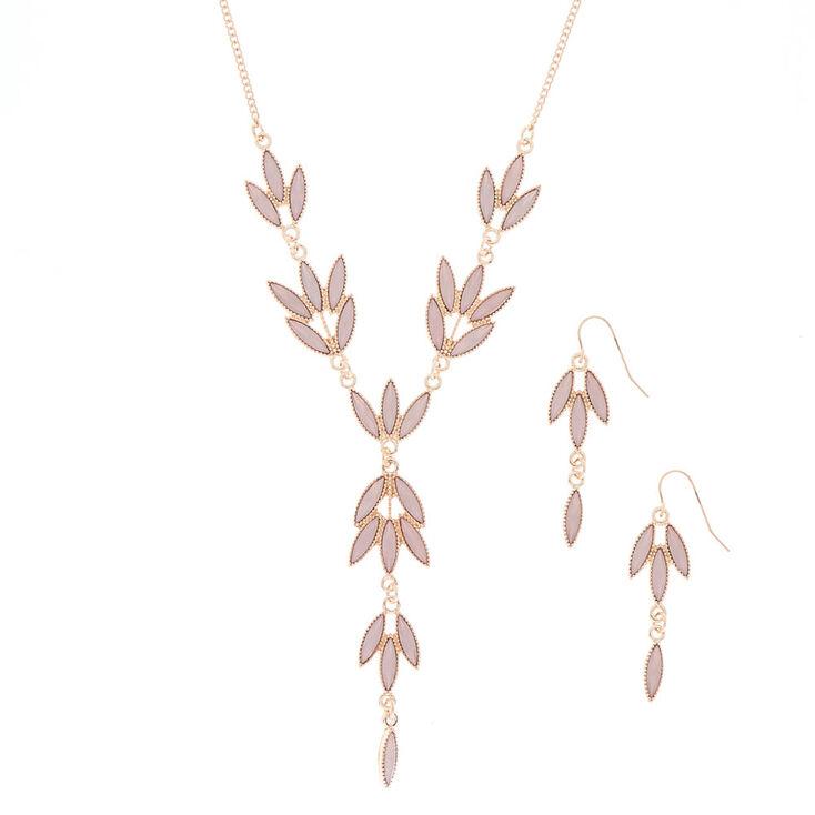 Claire/'s Fille Or Floral Mini Cheveux Griffes-Blush 2 Pack Rose