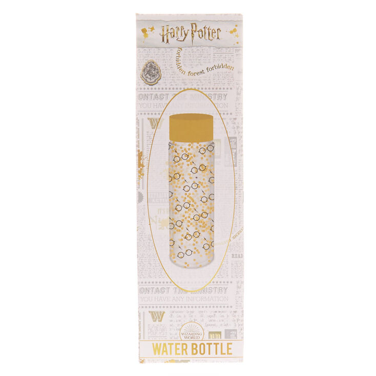 Harry Potter™ Glitters Glasses Water Bottle - Gold,