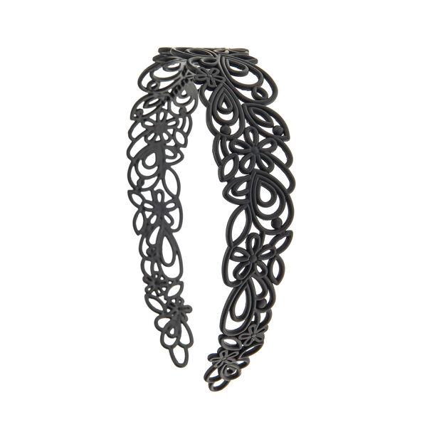 Claire's - matte filigree headband - 1
