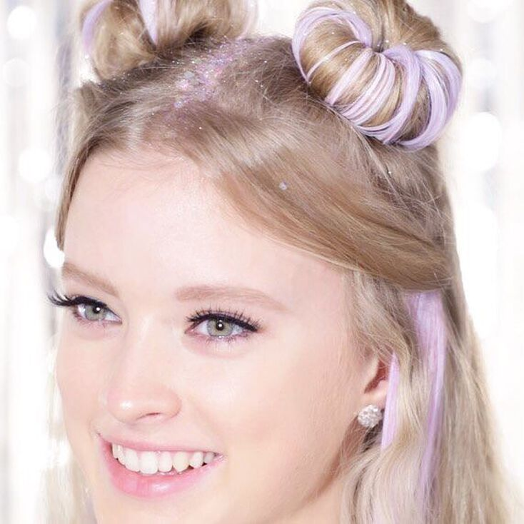 Galactic Glitter Space Buns Hair Accessories Set Claire S