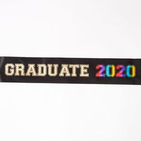 Graduate 2020 Sash - Black,