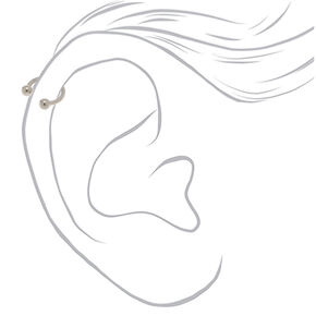 Titanium 16G Assorted Cartilage Earrings - 3 Pack,