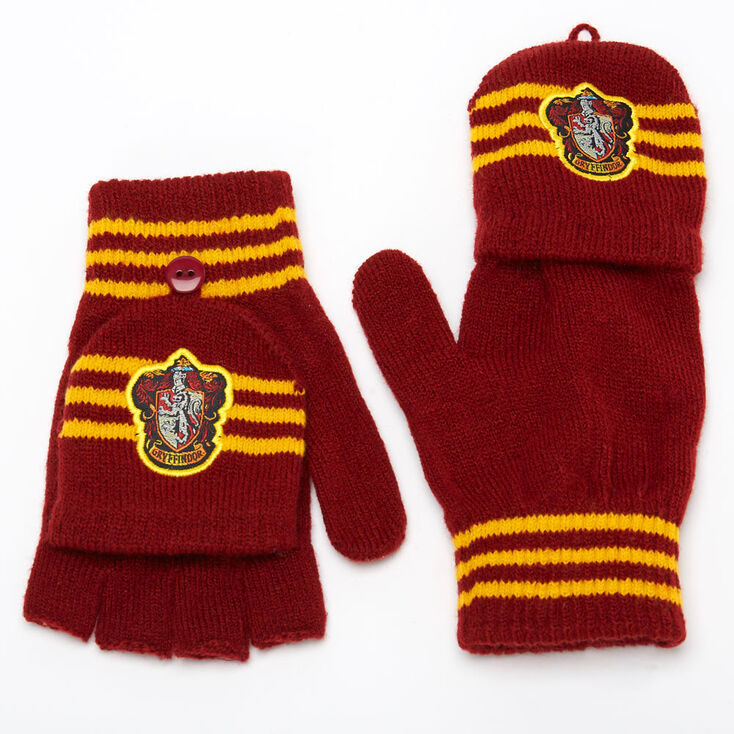 Mitaines avec rabat moufle Gryffondor Harry Potter™ - Bordeaux,
