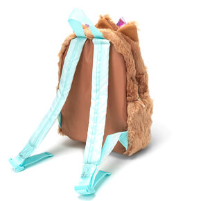 JoJo Siwa™ BowBow Plush Medium Backpack – Brown,