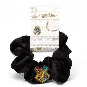 Harry Potter™ Hogwarts Velvet Scrunchie – Black,
