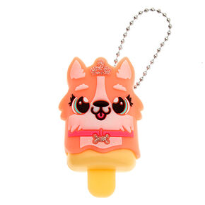 Pucker Pops Queenie the Corgi Lip Gloss - Peach,