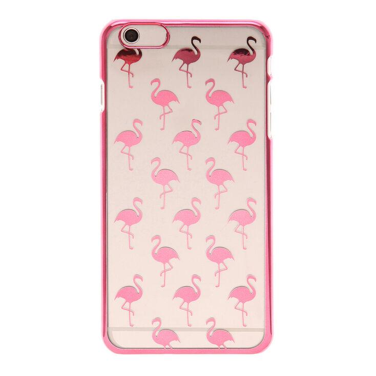 reputable site 97af0 9e78f Metallic Flamingo Phone Case
