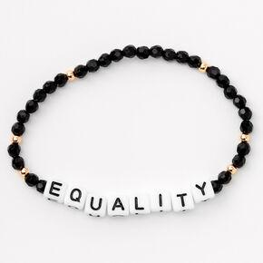 Equality Beaded Stretch Bracelet Set - 3 Pack,