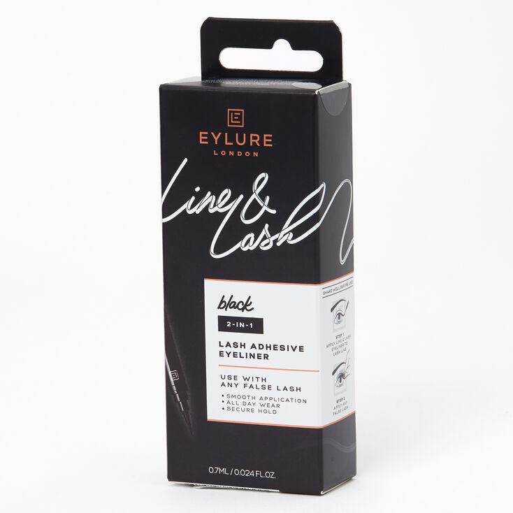 Eyelure Line & Lash Adhesive Eyeliner - Black,