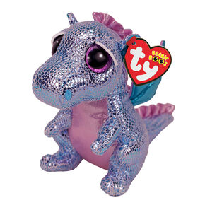 Ty Beanie Boo Small Holly the Dragon Plush Toy,