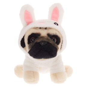 Doug the Pug™ Small Bunny Plush Toy - White,