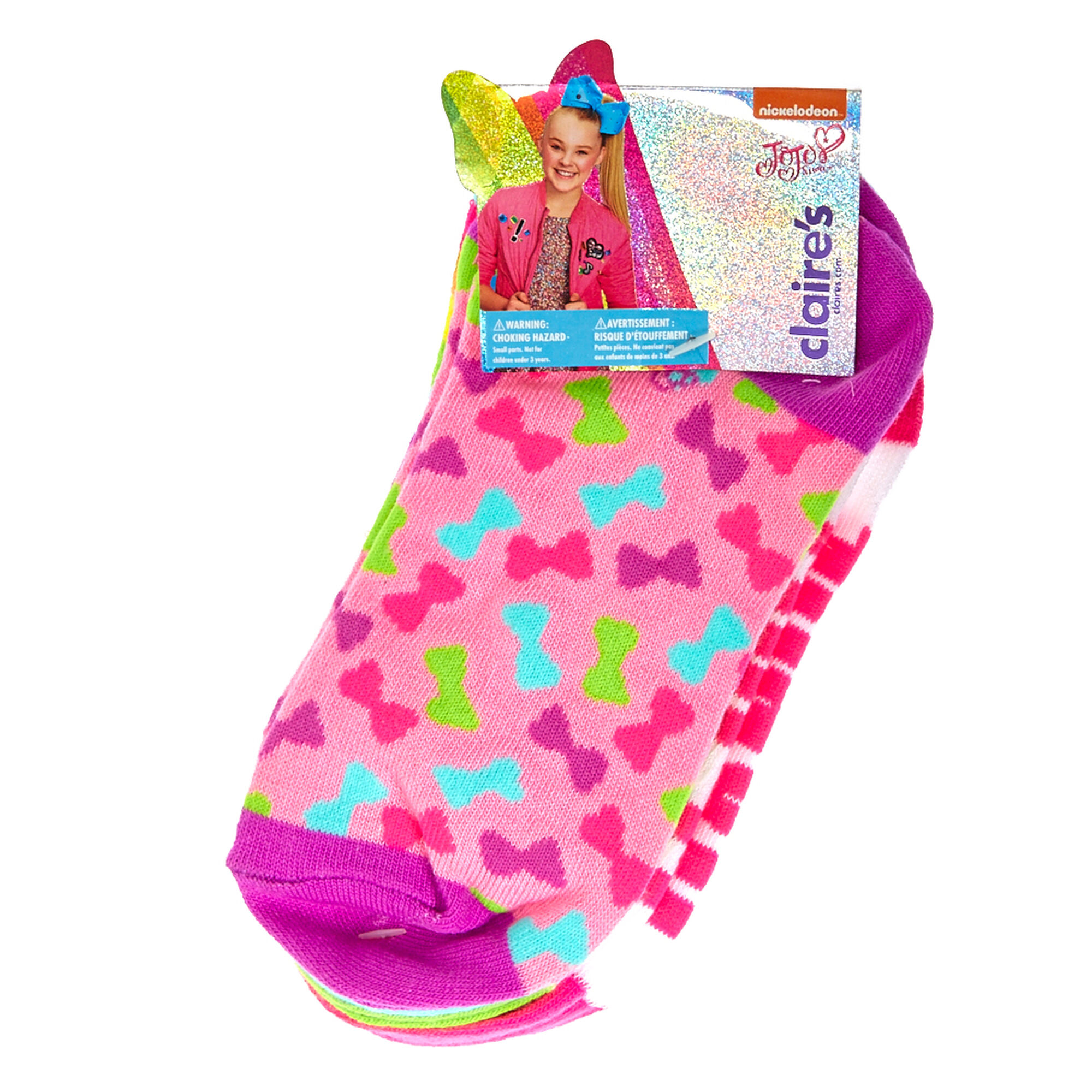 20fb458d3 ... JoJo Siwa trade  4 Pack Ankle Socks