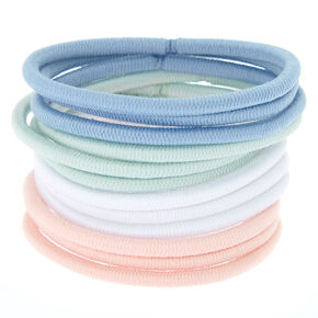 Pretty Pastel Hair Bobbles - 12 Pack,