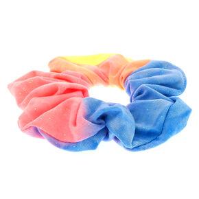 Medium Tie Dye Rainbow Hair Scrunchie,