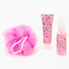 Get Happy Tumbler Bath Set - Pink,