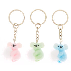 Best Friends Koala Pom Keychains - 3 Pack,