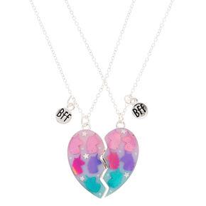 ec487e39f2 Best Friends Unicorn Heart Pendant Necklaces - 2 Pack