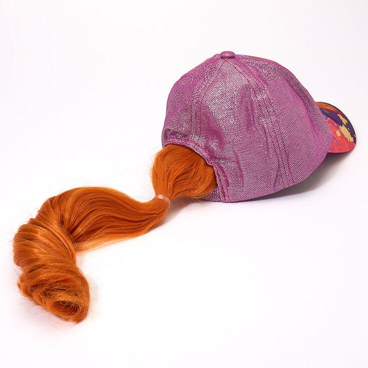 Casquette de baseball avec cheveux Anna La Reine des Neiges 2 de ©Disney,