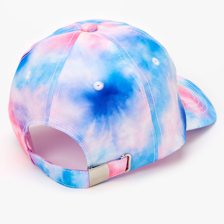 Love Tie-Dye Baseball Cap - Pink,