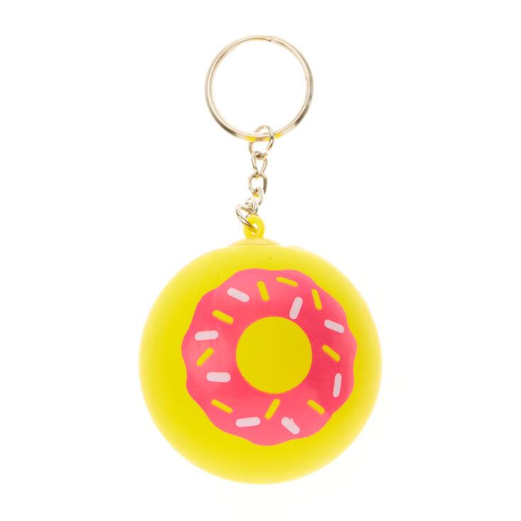 Porte-clés balle antistress en forme de donut,