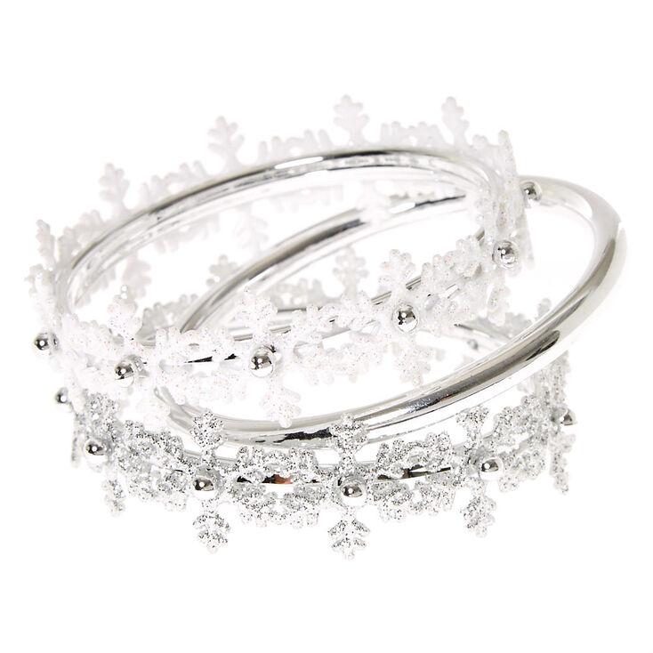 Kids Snowflake Bracelet Set