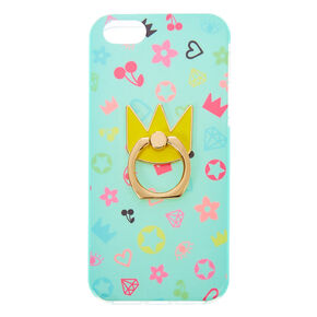 Royalty Protective Ring Holder Phone Case - Fits iPhone 5/5S,
