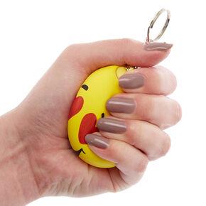 heart eye emoji stress ball keychain - fortnite heart emoji