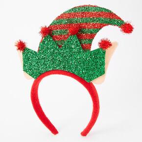 Glitter Elf Hat Headband,