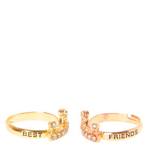 Best Friends Crown Rings,