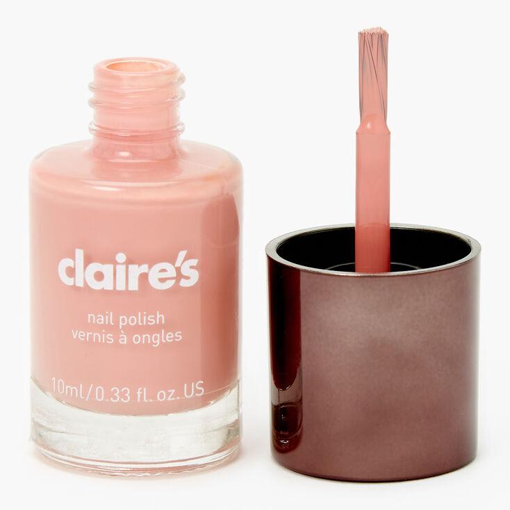 Gel-Like Nail Polish - Almond Nude,