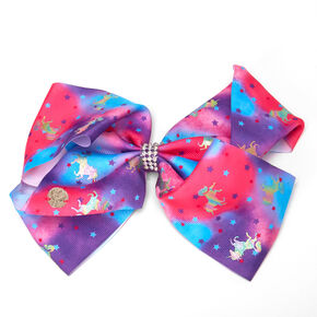 JoJo Siwa™ Large Unicorn Hair Bow – Purple,
