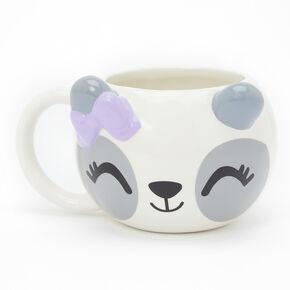 Poppy the Panda Ceramic Mug - White,