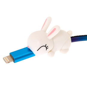 Bunny Cable Critter - White,