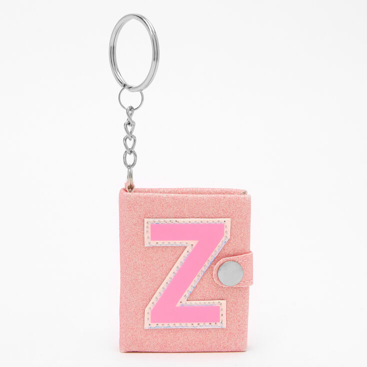 Initial Mini Journal Keychain - Z,