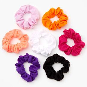 Chouchous couleurs vives unies - Lot de 7,