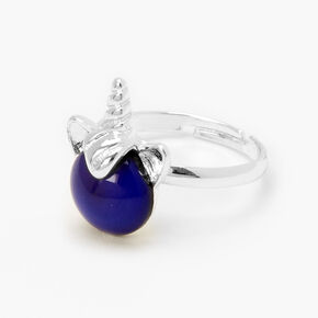 Silver Unicorn Mood Ring,