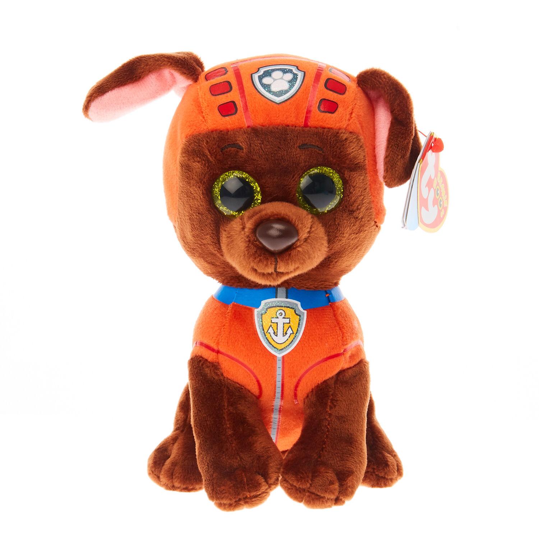 TY Beanie Boo Small Paw Patrol Zuma Soft Toy, ...
