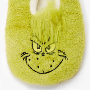 Dr. Seuss™ The Grinch Furry Slippers - Green,
