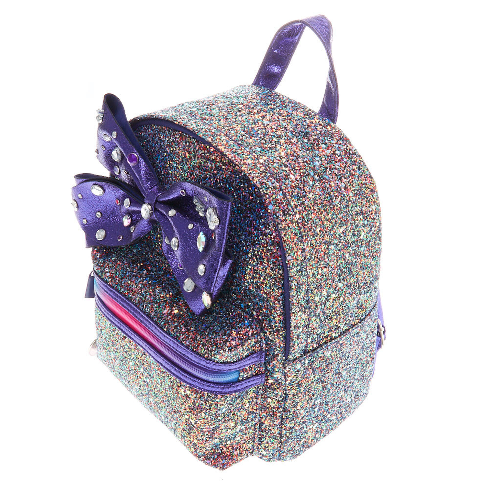 1a82b061f6b ... JoJo Siwa trade  Cake Glitter Backpack - Purple ...