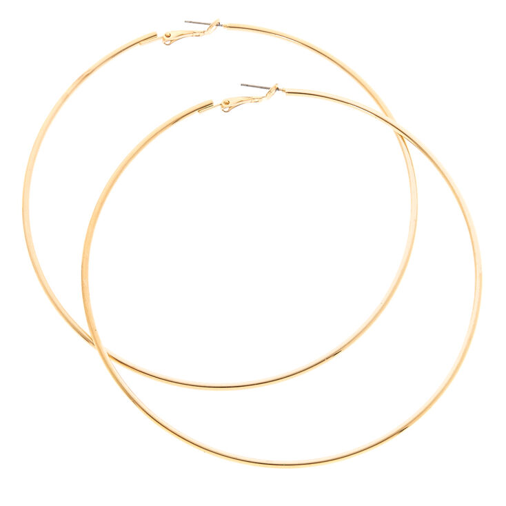 100MM Extra Large Gold Hoop Earrings,