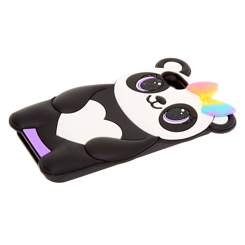 Pretty Panda Silicone Phone Case - Fits iPhone 6/7/8/SE