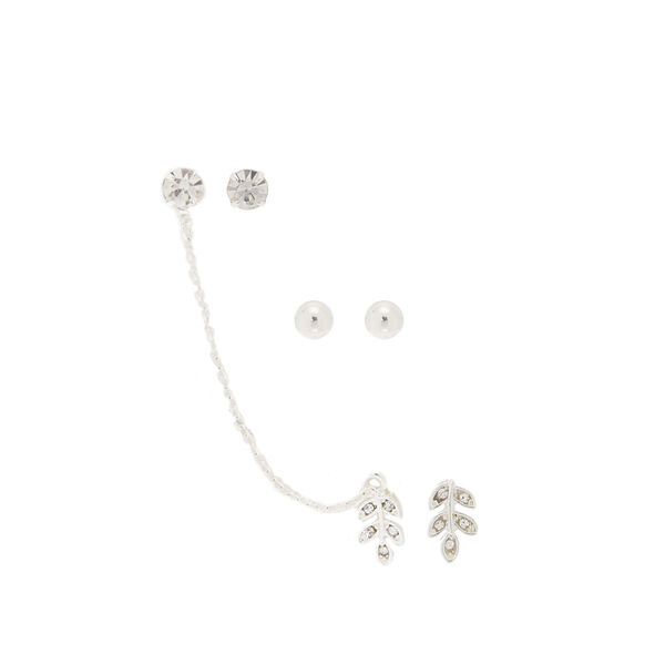 Claire's - leaf ear swag earrings - 1