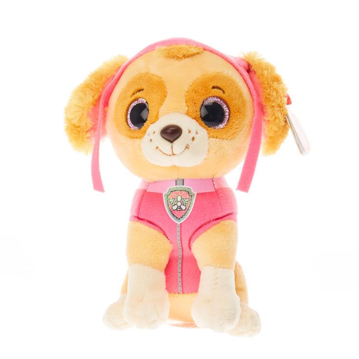 e0a6efb089b TY Beanie Boo Small Paw Patrol Skye Soft Toy