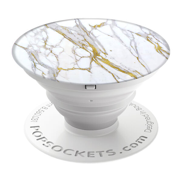 Claire's - calacatta popsocket - 1