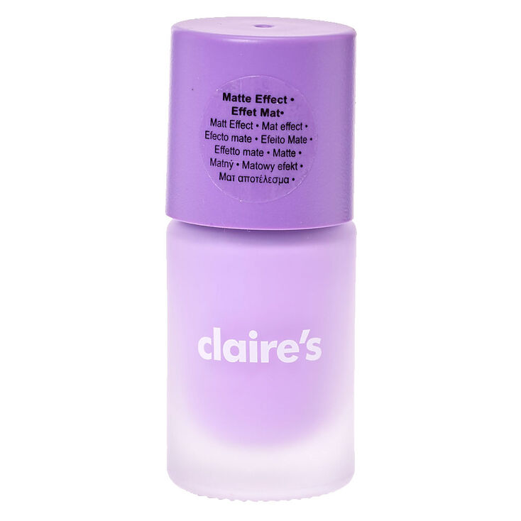 Sorbet Purple Matte Nail Polish