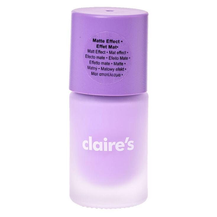 Sorbet Purple Matte Nail Polish | Claire\'s