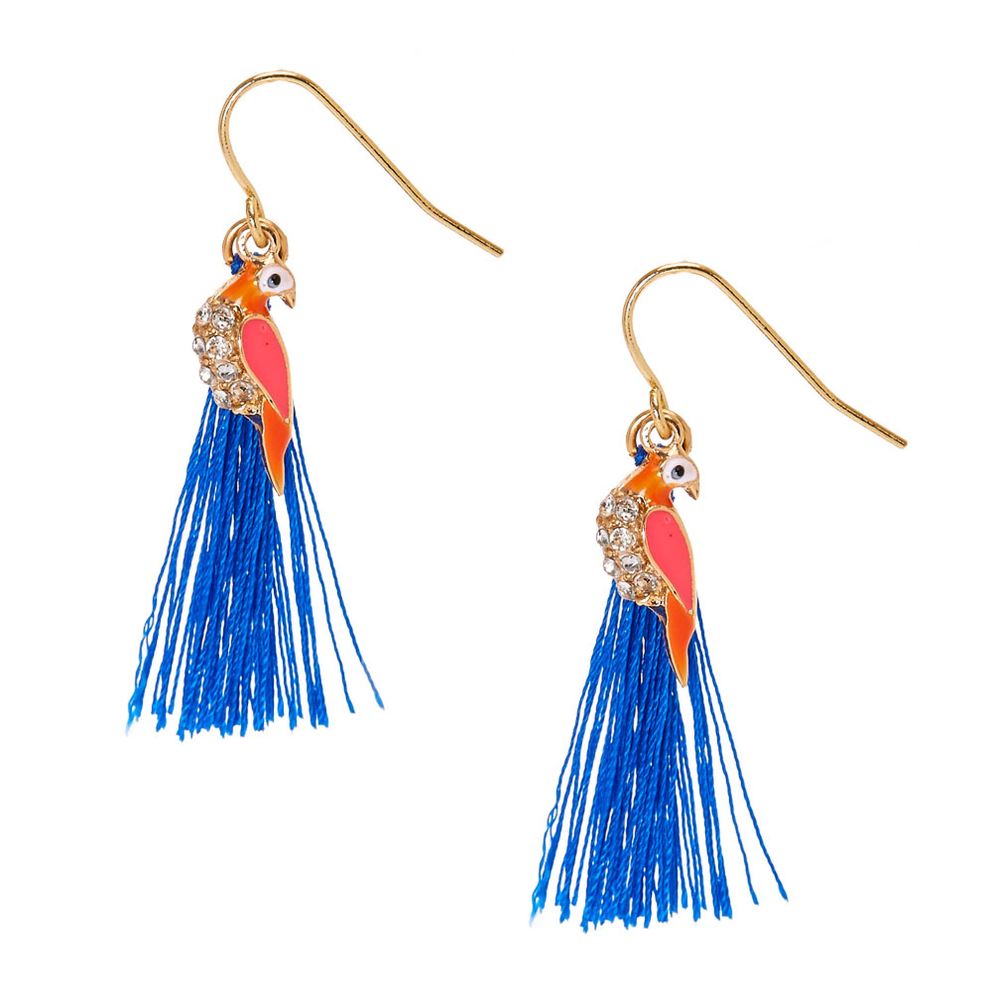 Pea Tel Drop Earrings